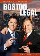 Boston Legal - Season 5 (4-DVD)