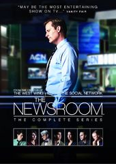 The Newsroom - Complete Series (9-DVD)