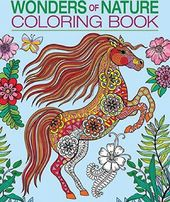 Wonders of Nature - Adult Coloring Book