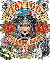 Tattoo #3 - Adult Coloring Book