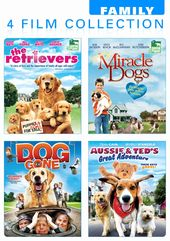 Family 4 Film Collection - Dog Lovers Pack (The