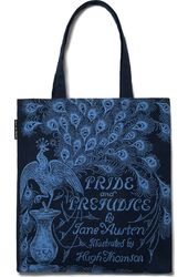 Pride and Prejudice (Navy) - Tote Bag