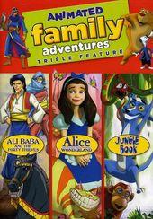 Animated Family Adventures Triple Feature -