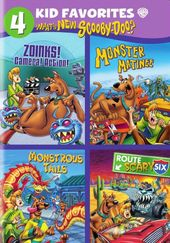 4 Kid Favorites: What's New Scooby-Doo? (4-DVD)