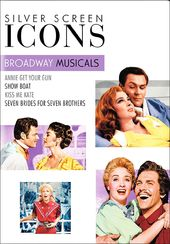 Silver Screen Icons: Broadway Musicals (4-DVD)