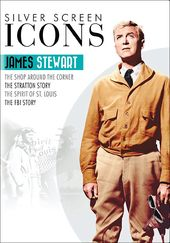 Silver Screen Icons: James Stewart (4-DVD)