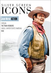 Silver Screen Icons: John Wayne Action (4-DVD)