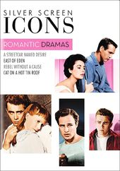 Silver Screen Icons: Romantic Drama (4-DVD)
