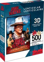 John Wayne - A Mans Got To Do - 500-Piece 3D