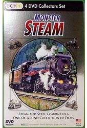 Trains - Monster Steam (4-DVD)