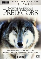 North American Predators (4-DVD)