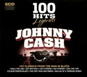100 Hits Legends: Johnny Cash (5-CD Box Set)