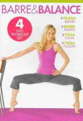 Barre & Balance Workout Set (4-DVD)