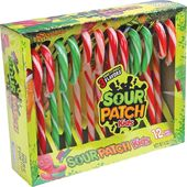 Sour Patch Kids - Box of 12 Candy Canes
