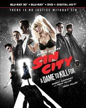 Sin City: A Dame to Kill For 3D (Blu-ray + DVD)