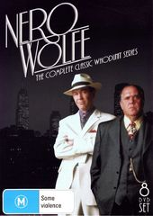Nero Wolfe - Complete Series [Import] (8-DVD)