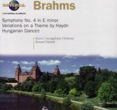 Brahms: Symphony No. 4 / Variations on a Theme by