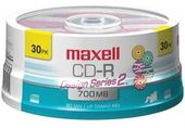 MAXELL 648261 Designer CD-Rs - 30-Pack Spindle