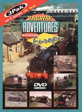 Trains - Railway Adventures Across Europe (3-DVD)