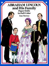 Abe Lincoln & Family - Paper Dolls