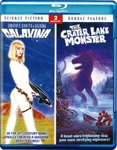 Galaxina / The Crater Lake Monster (Blu-ray)
