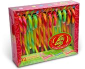 Jelly Belly - Box of 12 Candy Canes: Very