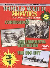 World War II Movies - Corregidor / The Immortal
