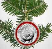 Baseball - Seattle Mariners - Silver Coin Ornament