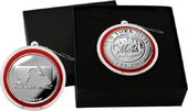 Baseball - New York Mets Silver Coin Ornament