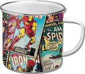 Marvel Comics - Retro Comic -Enamel Mug