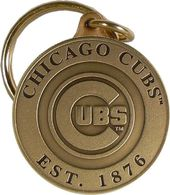 Baseball - Chicago Cubs - Bronze Key Chain