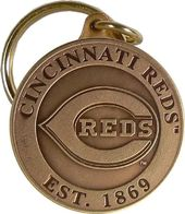 Baseball - Cincinnati Reds - Bronze Key Chain