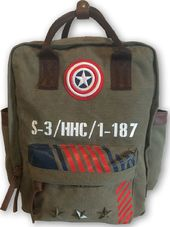 Marvel Comics - Captain America Vintage Military