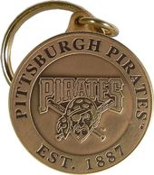 Baseball - Pittsburgh Pirates - Bronze Key Chain