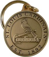 Baseball - St. Louis Cardinals - Bronze Key Chain