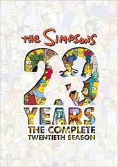 The Simpsons - Complete Season 20 (4-DVD)