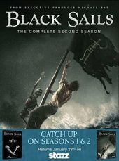 Black Sails - Seasons 1 & 2 (6-DVD)