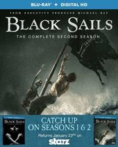 Black Sails - Seasons 1 & 2 (Blu-ray)