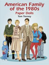 American Family - Paper Dolls 80's
