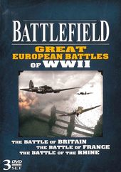 WWII - Battlefield: Great European Battles (3-DVD)
