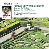 A Violin Festival: Concertos by Vivaldi for
