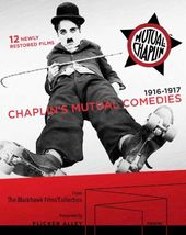 Chaplin's Mutual Comedies (Blu-ray + DVD + Book)