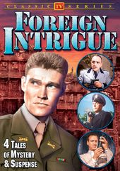 Foreign Intrigue: 4 Tales of Mystery & Suspense
