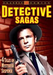 Detective Sagas: 4 Tales of Mystery & Suspense