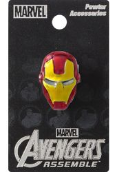 Marvel Comics - Iron Man - Colored Pewter Lapel
