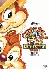 Chip 'n' Dale Rescue Rangers - Volume 1 (3-DVD
