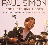 Complete Unplugged: New York Broadcast 1992 (2-CD)