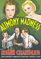 "Alimony Madness - 11"" x 17"" Poster"