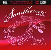 Sondheim Solos: Female Selections