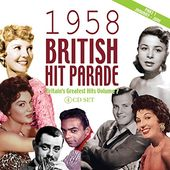 British Hit Parade: 1958, Part 1 (4-CD)